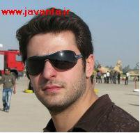 عکس متفاوت علی ضیاء با ریش