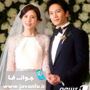 عکس های عروسی جی سانگ بازیگر نقش سورو در سریال سرزمین آهن