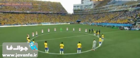 دانلود خلاصه بازی برزیل و کرواسی