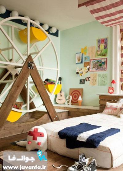 جدیدترین دکوراسیون اتاق کودک 93 - 2014