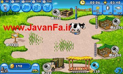 دانلود بازی مدیریت مزرعه farm frenzy برای اندروید