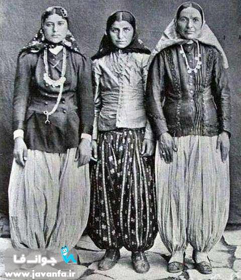 عکس دختران بالا شهر تهران در زمان قاجار