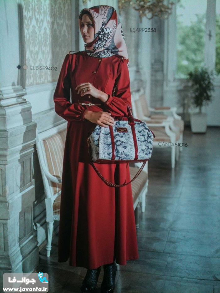 مدل های مانتو باحجاب تابستان 93 - 2014