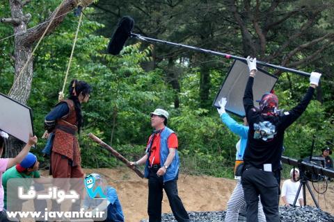 تصاویر پشت صحنه سریال سرزمین آهن