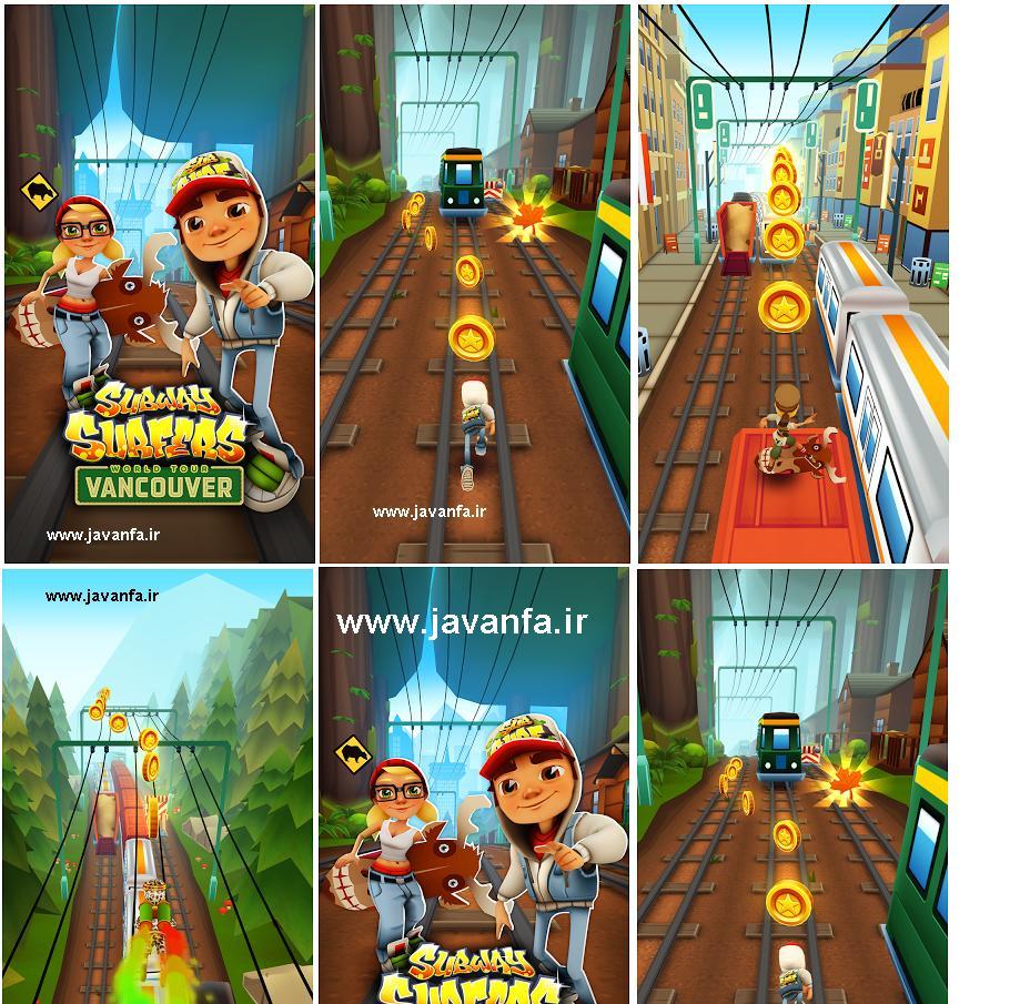 هک بازی فرار در مترو Subway Surfers اندروید نسخه 1.27.0