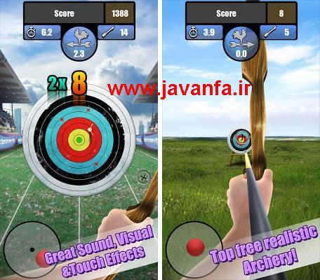 دانلود بازی تیراندازی با کمان اندروید - archery tournament