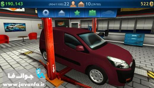 دانلود بازی تعمیر کار ماشین مکانیک اندروید Car mechanic simulator 2014 mobile