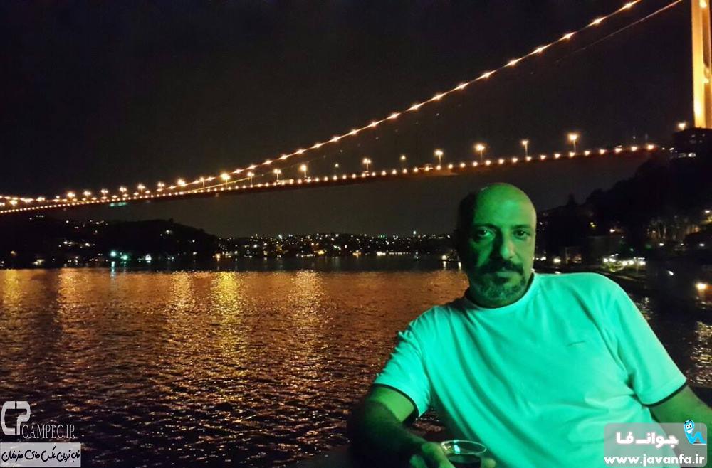 عکس های جدید امیر جعفری در استانبول ترکیه