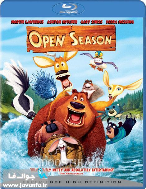 دانلود رایگان انیمیشن فصل شکار 1 با دوبله فارسی Open Season 2006