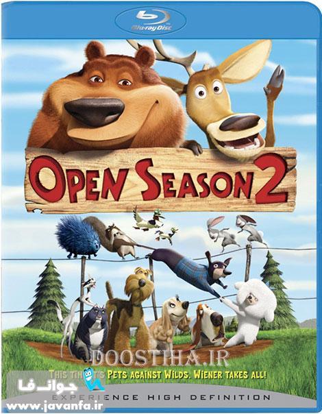 دانلود انیمیشن فصل شکار 2 با زیرنویس فارسی Open Season 2008
