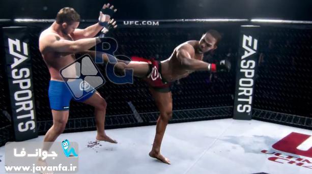 دانلود  تریلری جدید از آپدیت جدید بازی بوکس 2015 UFC