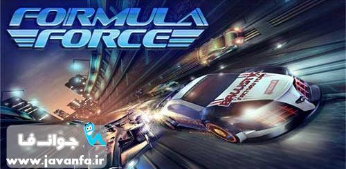 دانلود بازی ماشین سواری Formula Force Racing v1.0 + data اندروید