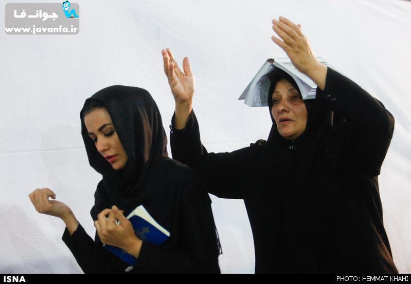 عکس های متفاوت از شب قدر در تهران