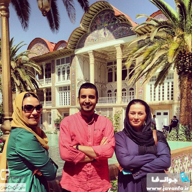 عکس های جدید بازیگران سریال مدینه در شیراز