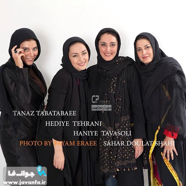 عکس های جدید طناز طباطبایی مرداد 93-2014