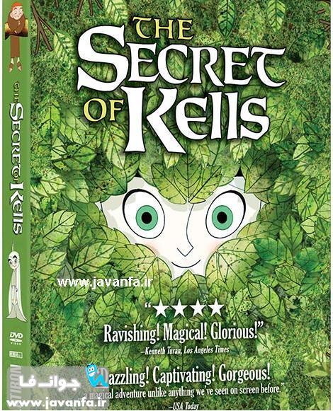 دانلود انیمیشن راز کلز با دوبله فارسی The Secret of Kells 2009