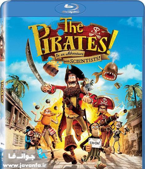 دانلود رایگان انیمیشن دزدان دریایی نخاله با دوبله فارسی The Pirates! Band of Misfits