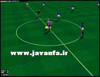 دانلود بازی فوتبال قدیمی کم حجم فیفا FIFA 1996 برای کامپیوتر
