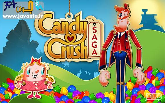 دانلود بازی شکلات های رنگی اندروید Candy Crush Saga