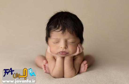 عکس های زیبا از خواب نوزادان