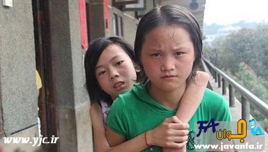 زیبا ترین دانش آموز چینی - عکس
