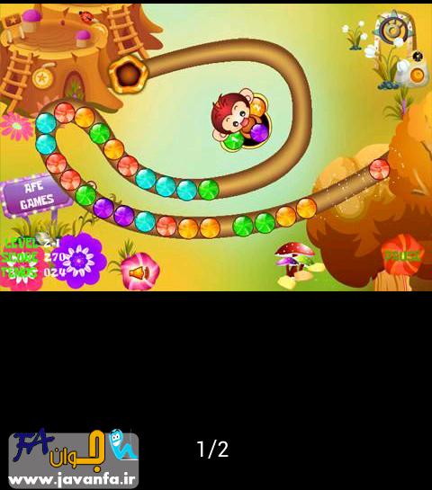 دانلود بازی اندروید میمون دیوانه
