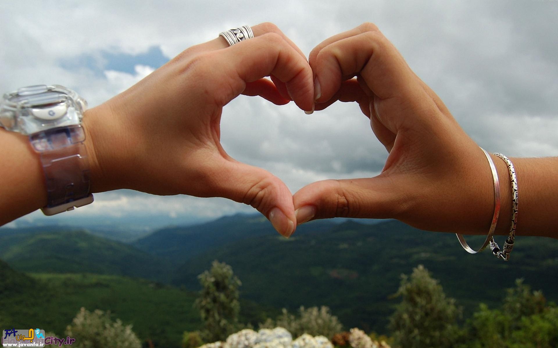 عکس های عاشقانه قلب