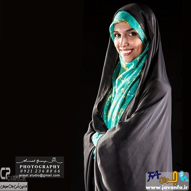 عکس های جدید مژده لواسانی مجری برنامه کافه سوال