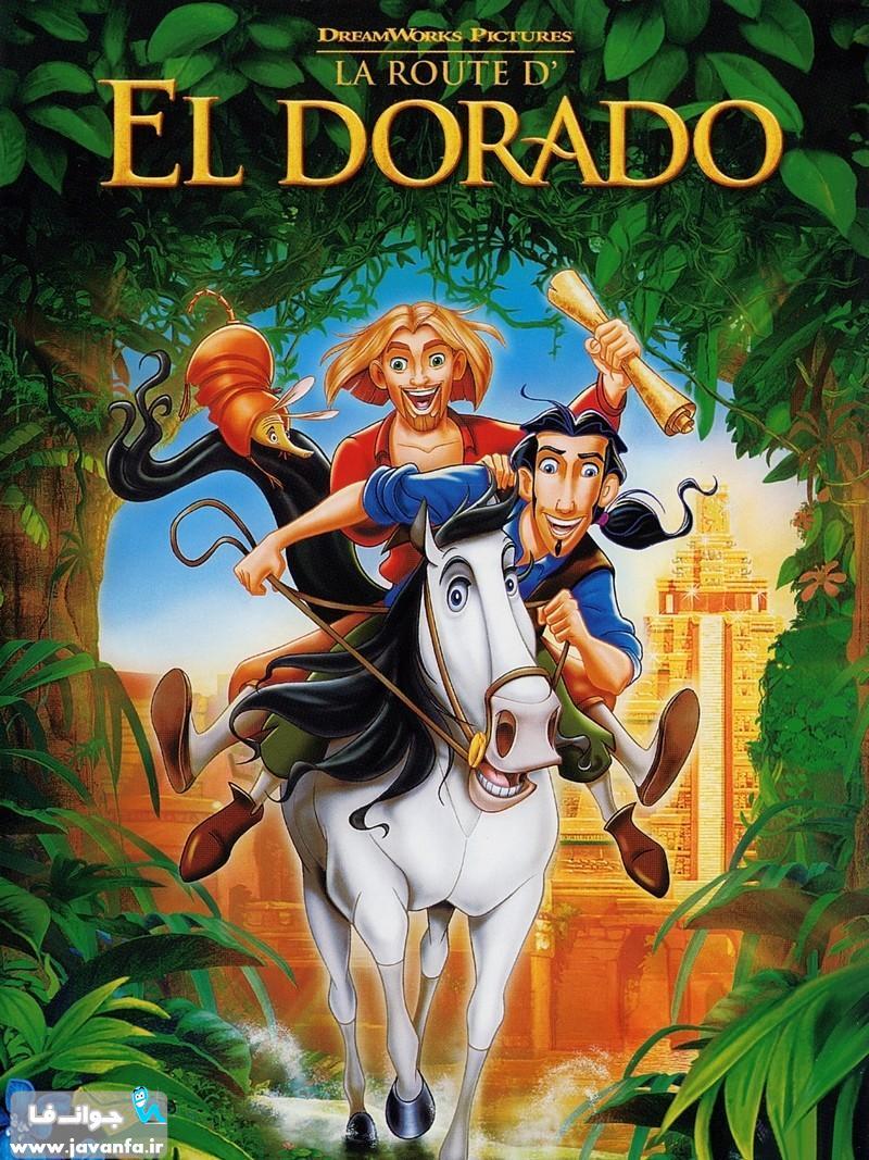 دانلود انیمیشن به سوی الدرادو با دوبله فارسی The Road to El Dorado