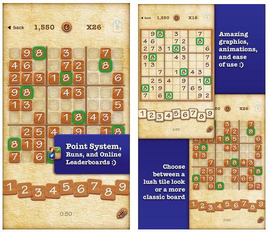 Sudoku 2 Pro برای iOS