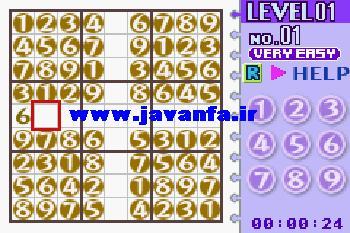 Sudoku برای سیمبین