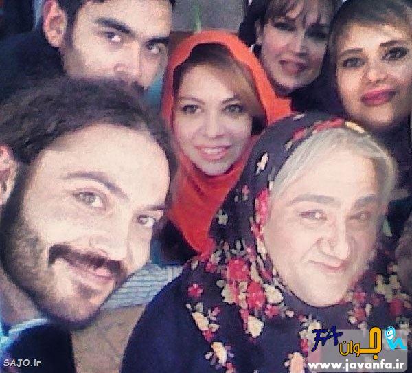 عکس های مهران غفوریان با گریم زنانه