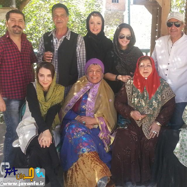 جدید ترین عکس های پشت صحنه فیلم سینمایی ایران برگر