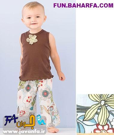 مدل لباس بچگانه پاییز 93-2014