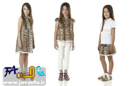 لباس های دخترانه Roberto Cavalli پاییز 2014