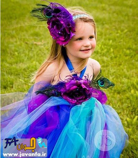 مدل لباس دختر بچه فانتزی 93-2014