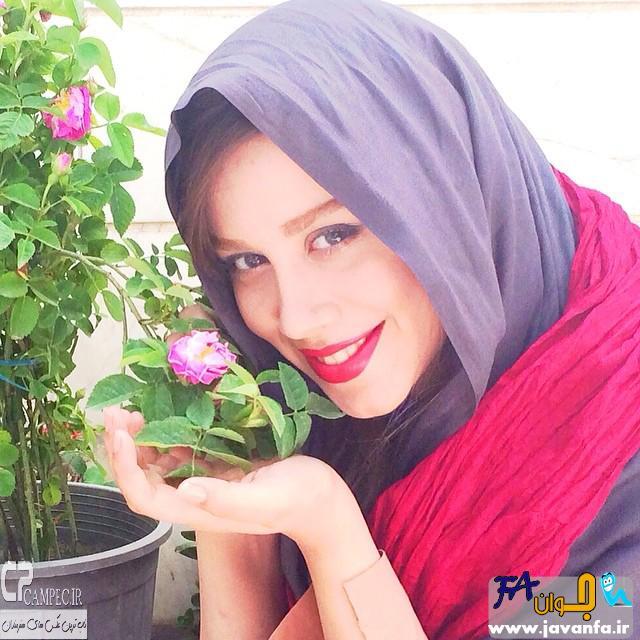 عکس های جدید نوش آفرین رحمانی بازیگر سریال انقلاب زیبا