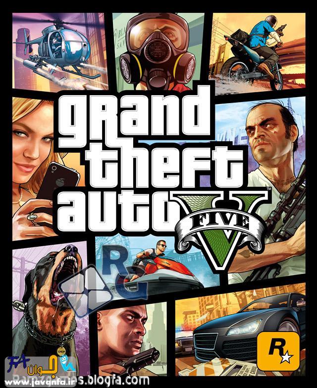 دانلود بازی GTA V برای کامپیوتر XBOX 360 و پلی استیشن Play Station