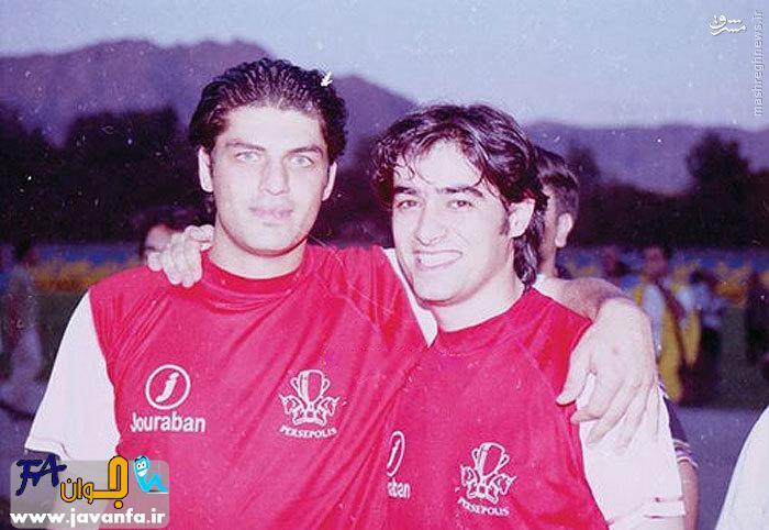 عکس شهاب حسنی و سام درخشان در 12 سال پیش