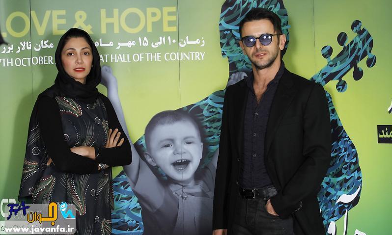عکس های جدید نیلوفر خوش خلق و امین حیایی در کنسرت مرتضی پاشایی
