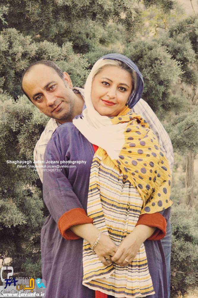 عکس های جدید عارف لرستانی با همسرش