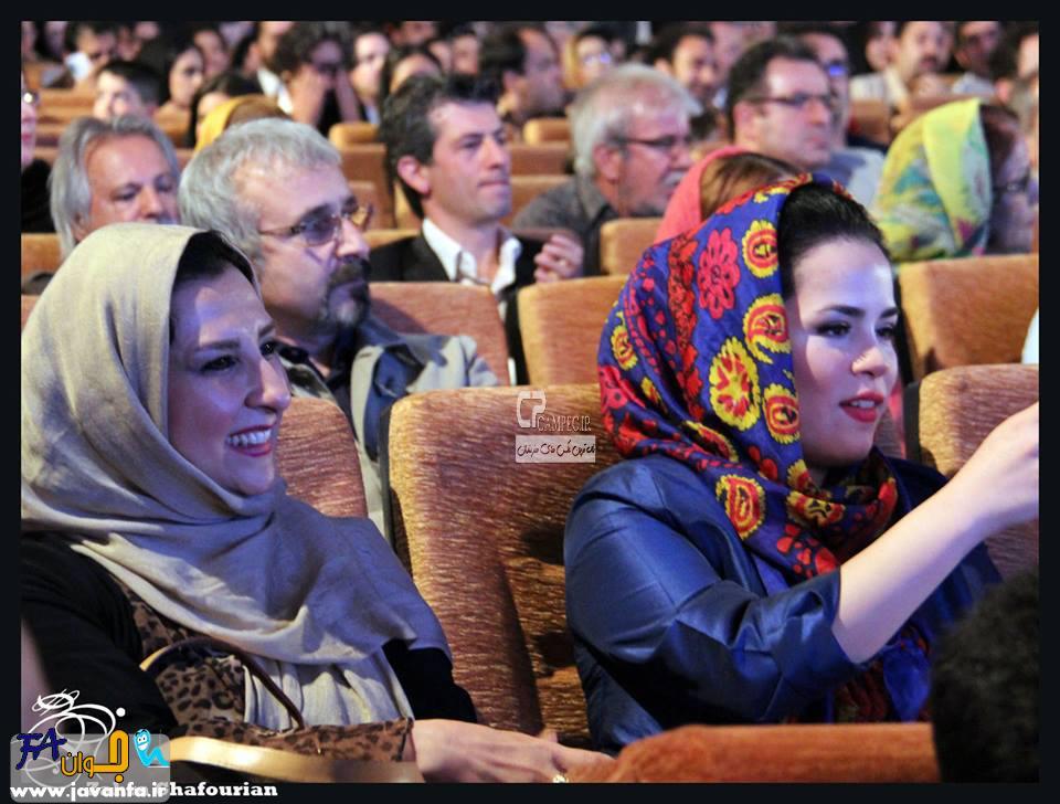 عکس های بازیگران در جشنواره فیلم کودک و نوجوان در اصفهان 93