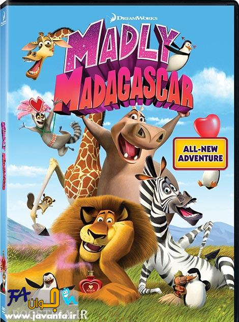 دانلود انیمیشن دیوانه بازی در ماداگاسکار Madly Madagascar 2013