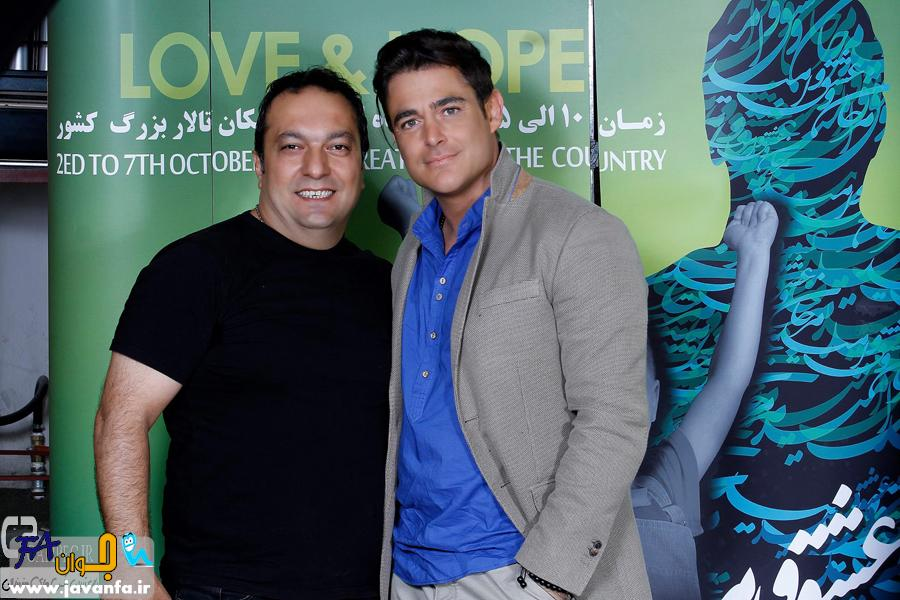 عکس های جدید محمد رضا گلزار در کنسرت مرتضی پاشایی