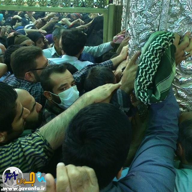 عکس های جدید و متفاوت از امیر تتلو در حرم امام رضا (علیه اسلام)