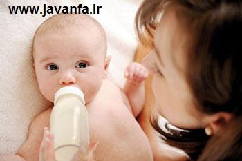 آموزش شیر دادن به نوزاد تازه بدنیا امده