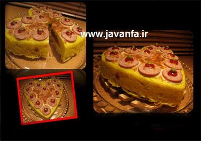 روش تهیه کیک ماکارونی غذای مورد علاقه بچه ها