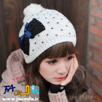 مدل کلاه بافتنی زنانه و دخترانه 2014-93-2015