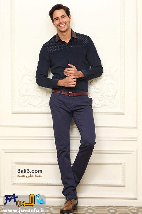 جدیدترین مدل های لباس پاییزه و زمستانه مردانه 93-2015