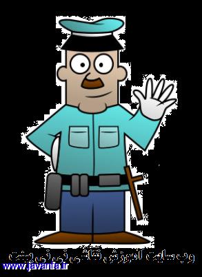 چطور یک پلیس کارتونی بکشیم ؟ آموزش نقاشی